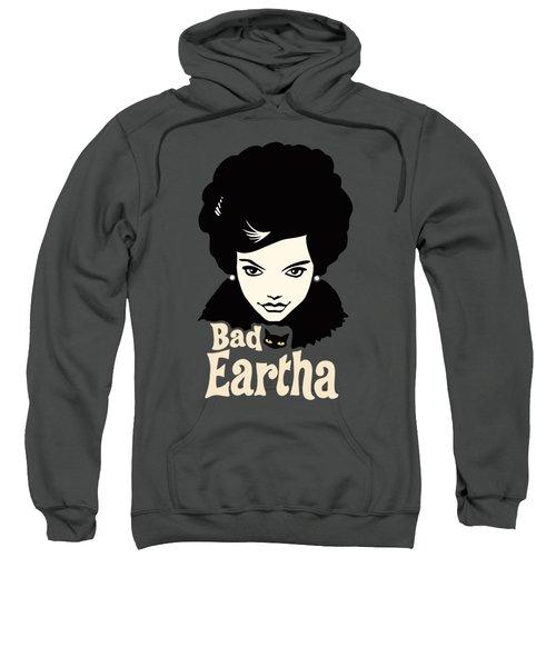 Eartha Kitt - That Bad Eartha Retro Poster Sweatshirt