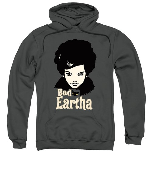 Eartha Kitt - That Bad Eartha Retro Poster Sweatshirt