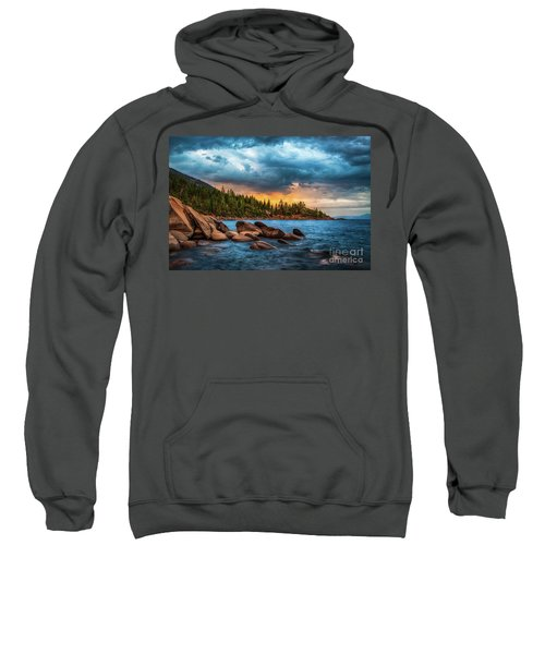 Eastern Glow At Sunset Sweatshirt