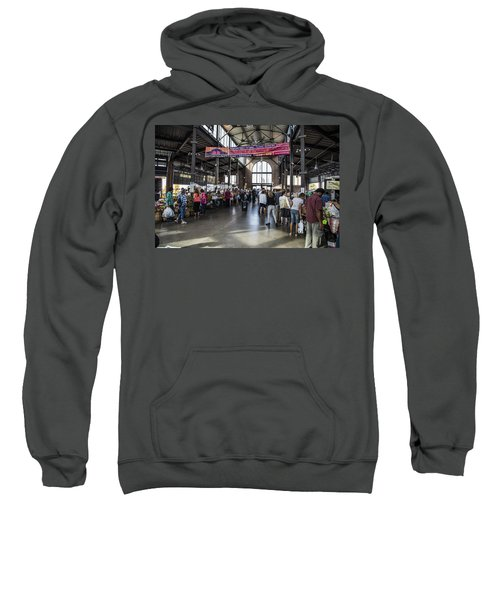 Eastern Market Detroit Saturday  Sweatshirt