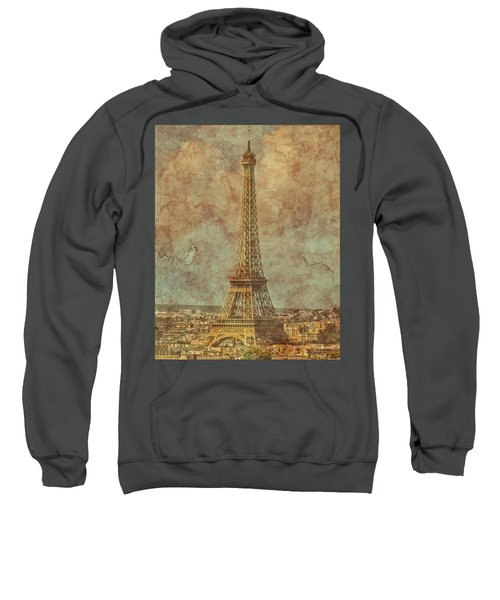 Paris, France - Eiffel Tower Sweatshirt