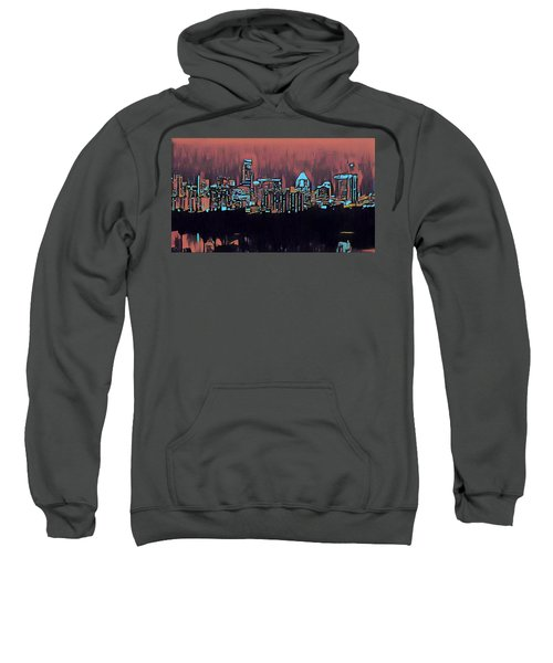 Electric Austin At Dusk Sweatshirt