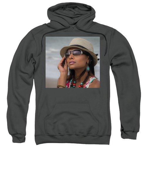 Elegant Beach Fashion Sweatshirt