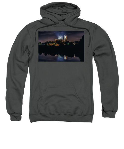 Ely Cathedral By Night Sweatshirt