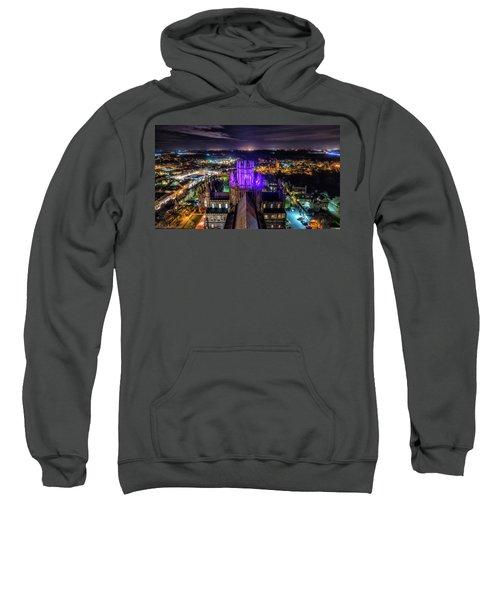 Ely Cathedral In Purple Sweatshirt