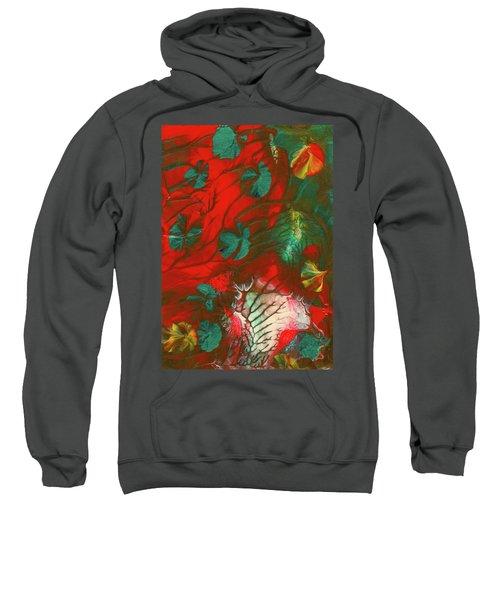 Emerald Butterfly Island Sweatshirt