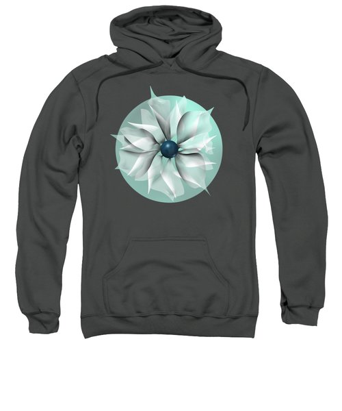 Emerald Flower Sweatshirt