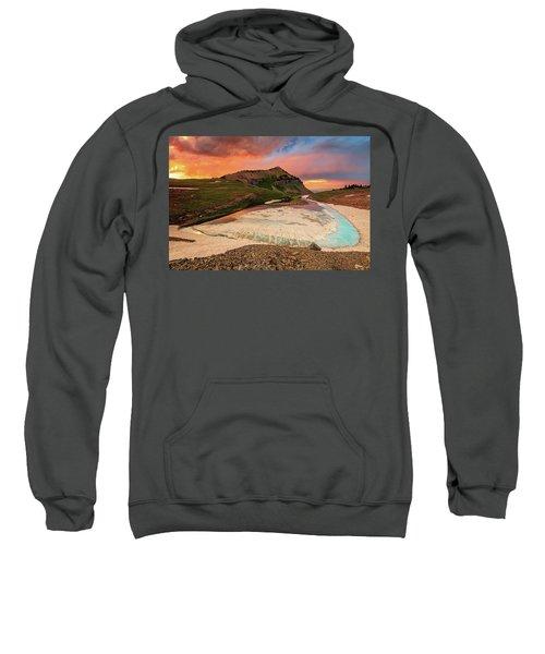 Emerald Lake Sunset Sweatshirt