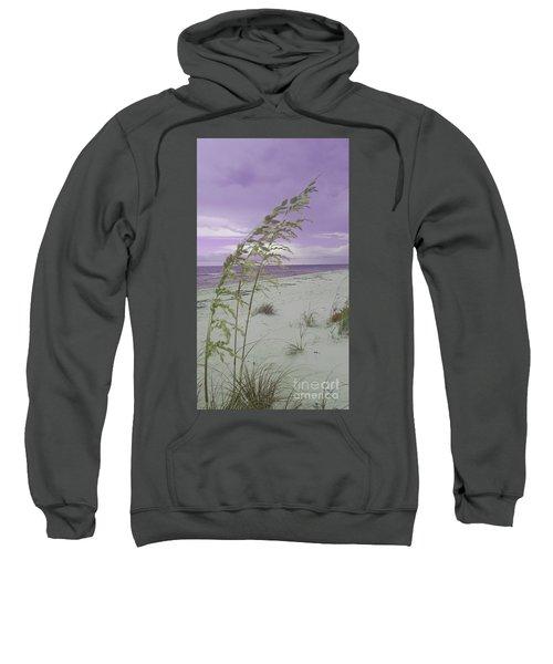 Emma Kate's Purple Beach Sweatshirt