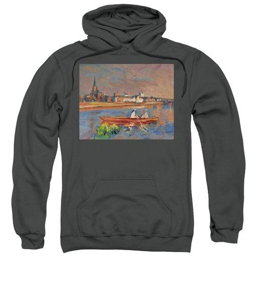 En Bateau De Renoir Sur La Meuse A Maestricht Sweatshirt