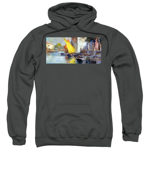 En Plein Air In Venice Sweatshirt