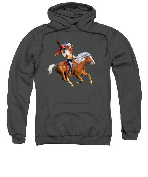 Enchanted Jungle Rider Sweatshirt