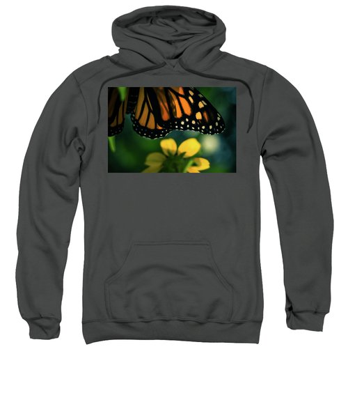 End Of Summer Monarch Sweatshirt