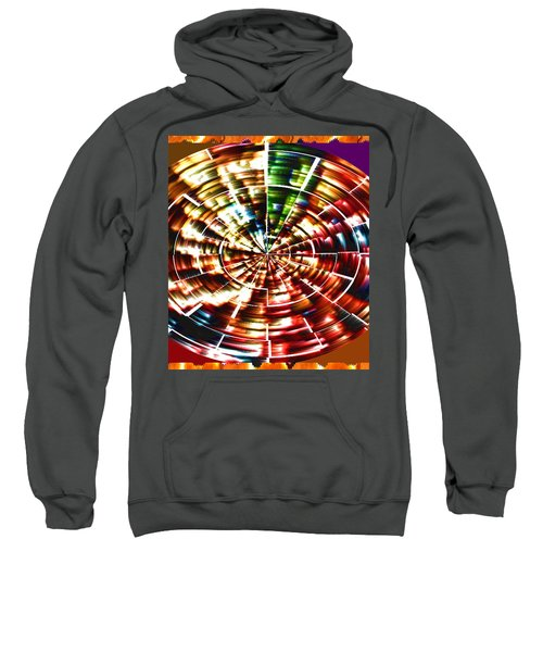Energy Aura Cleaning Wheel In Motion Yoga Meditation Mandala By Navinjoshi At Fineartamerica.com Sweatshirt