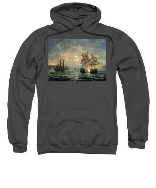 Engagement Between The 'bonhomme Richard' And The ' Serapis' Off Flamborough Head Sweatshirt