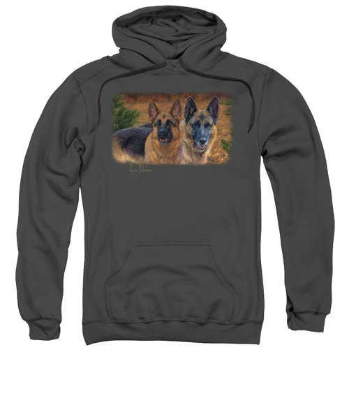 Enjoying The Fall Sweatshirt by Lucie Bilodeau