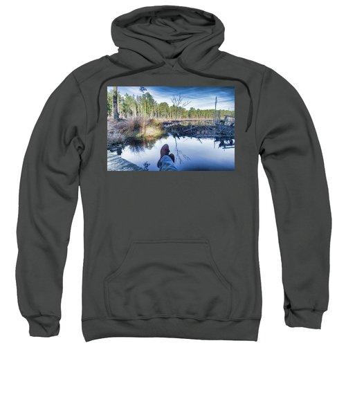 Enjoying The View Sweatshirt