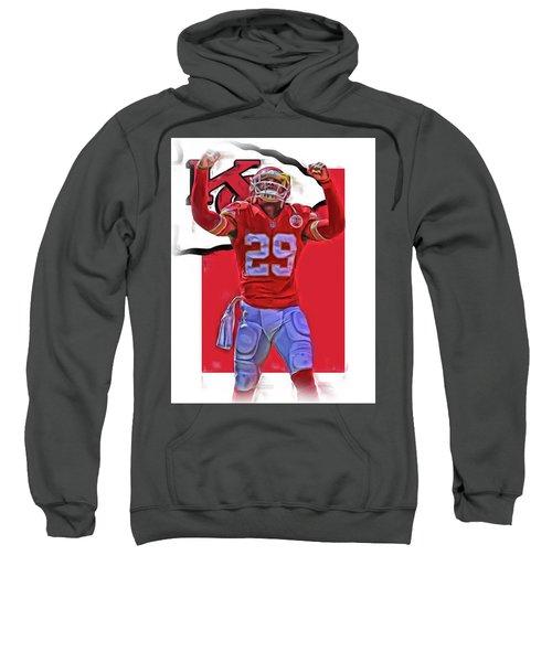 Eric Berry Kansas City Chiefs Oil Art Sweatshirt