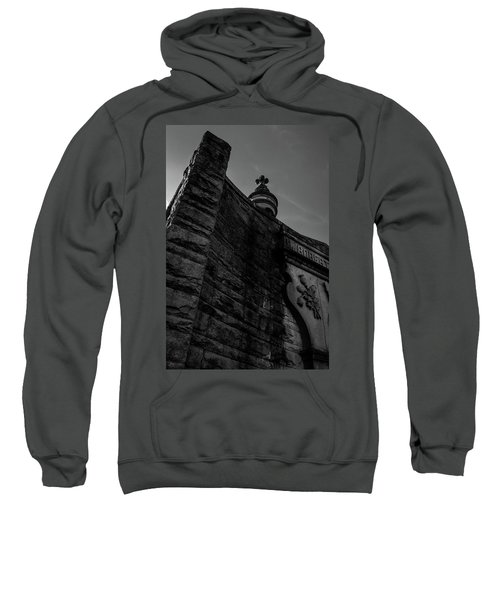 Eternal Stone Structure Bw Sweatshirt
