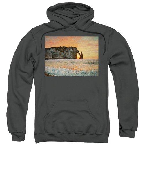 Etretat, Sunset  Sweatshirt