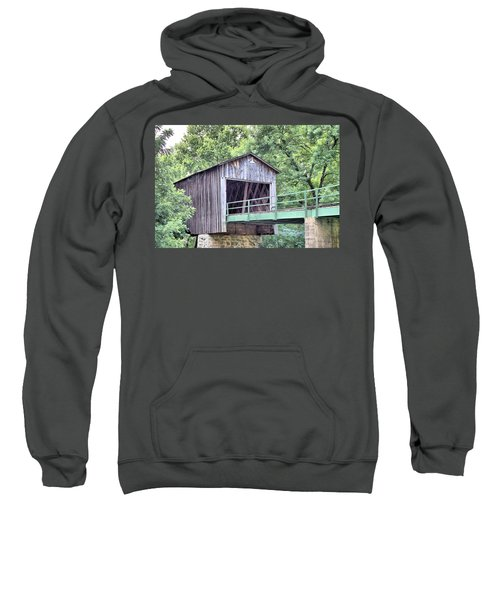 Euharlee Creek Covered Bridge Sweatshirt