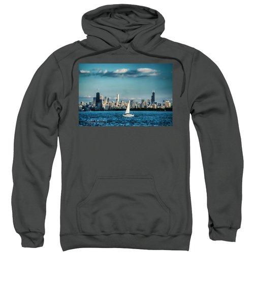 Evan's Chicago Skyline  Sweatshirt