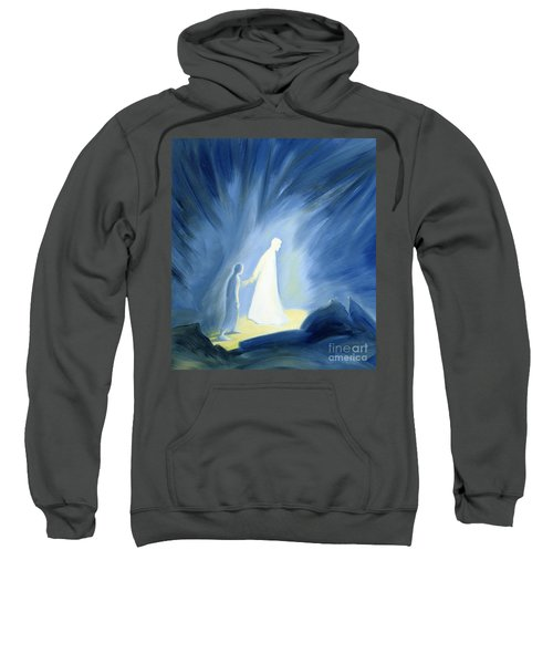 Even In The Darkness Of Out Sufferings Jesus Is Close To Us Sweatshirt