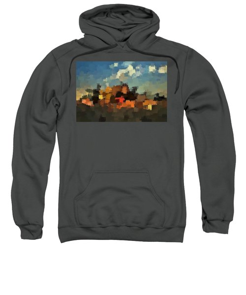 Evening At The Farm Sweatshirt