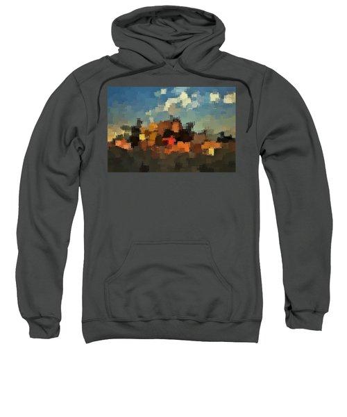 Evening At The Farm Sweatshirt