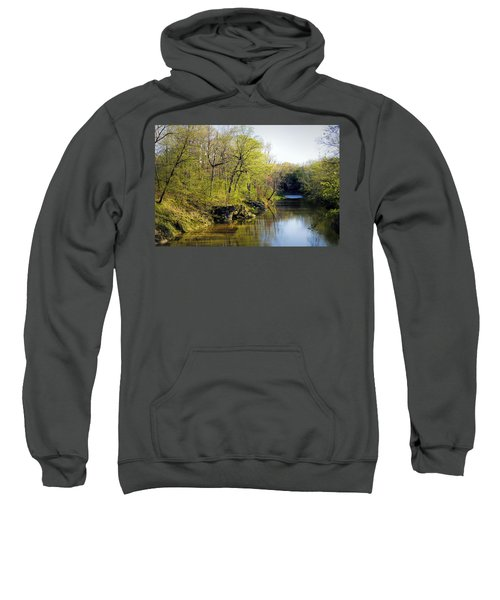 Evening Falls On Cedar Creek Sweatshirt