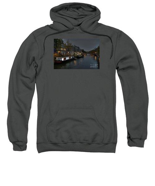 Evening In Amsterdam Sweatshirt
