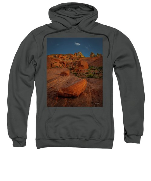 Evening In The Valley Of Fire Sweatshirt