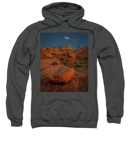 Evening In The Valley Of Fire Sweatshirt
