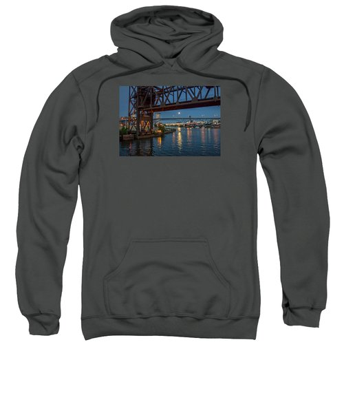 Evening On The Cuyahoga River Sweatshirt