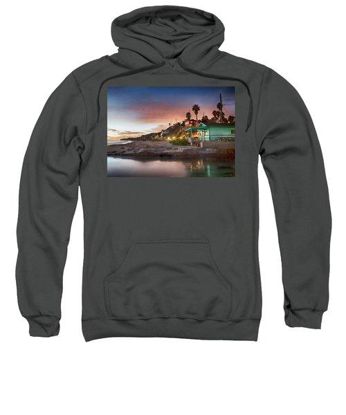 Evening Reflections, Crystal Cove Sweatshirt