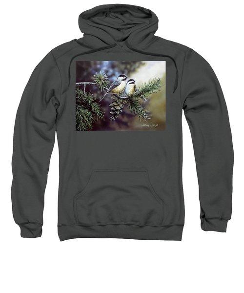 Evergreen Chickadees Sweatshirt