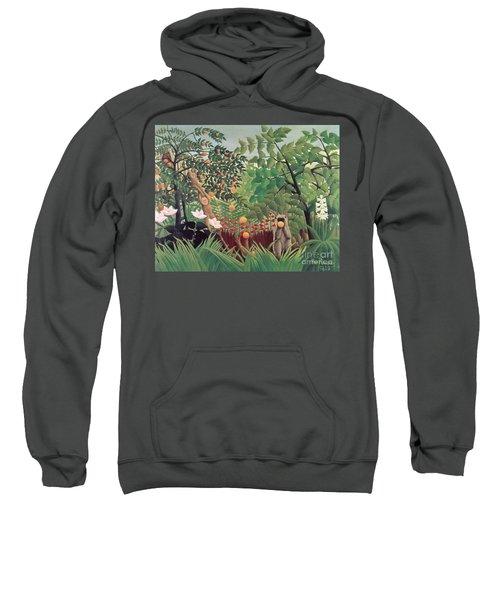 Exotic Landscape Sweatshirt