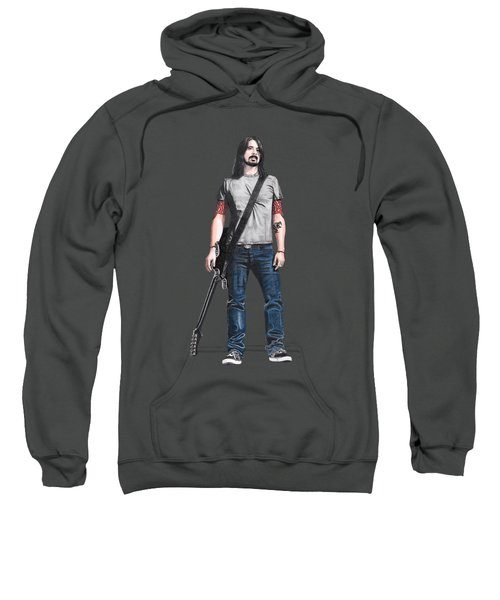 Extraordinary Hero Cutout Sweatshirt by Steven Hart