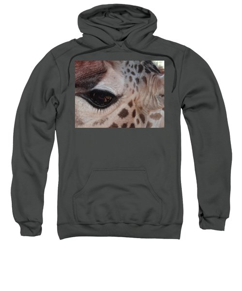Eye Of A Giraffe Sweatshirt
