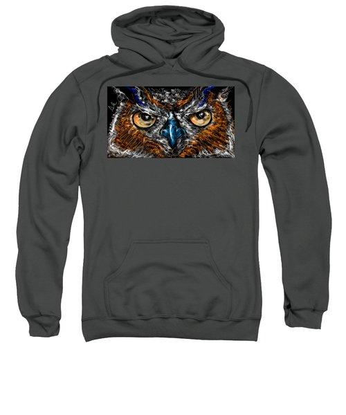 Eyes In The Night... Sweatshirt
