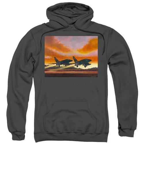 F-100d's Missouri Ang At Dusk Sweatshirt