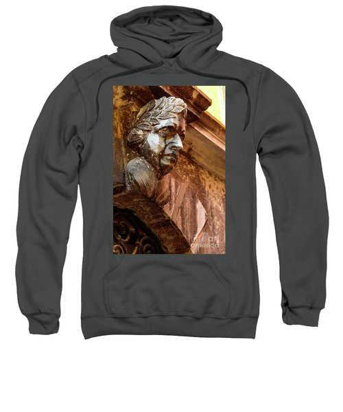 Face In The Streets - Rovinj, Croatia Sweatshirt