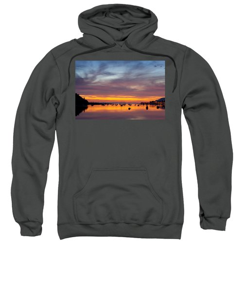 Fading Light, Conwy Estuary Sweatshirt