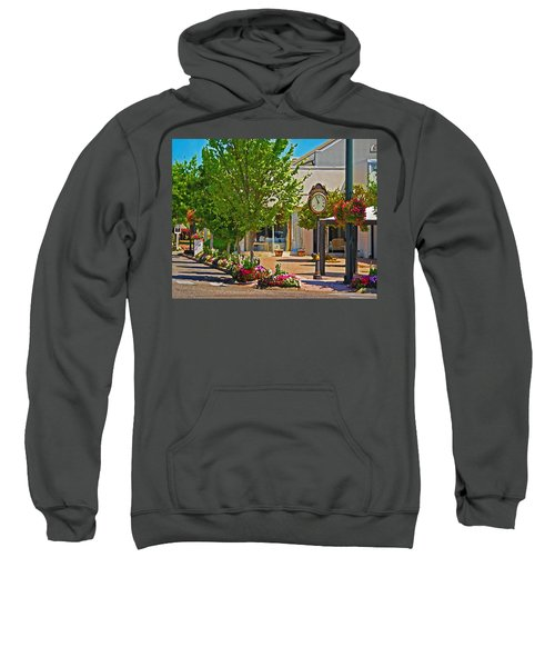 Fairhope Ave With Clock Looking North Up Section Street Sweatshirt