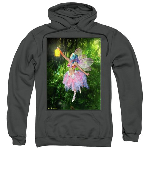 Fairy With Light Sweatshirt