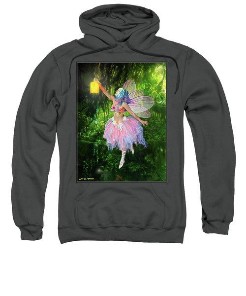 Fairy With Light Sweatshirt
