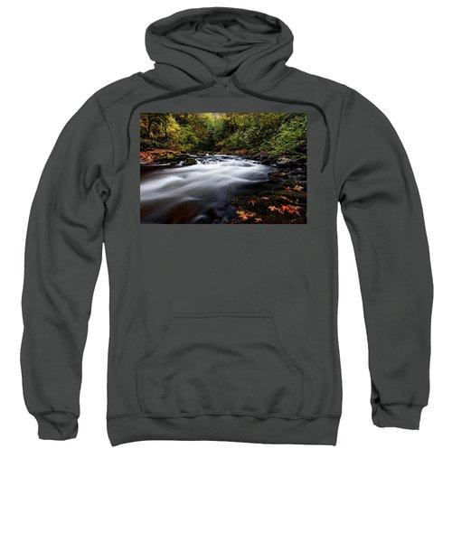 Fall Color At Cedar Creek Sweatshirt