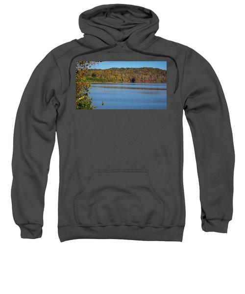 Fall Color At Lake Zwerner Sweatshirt