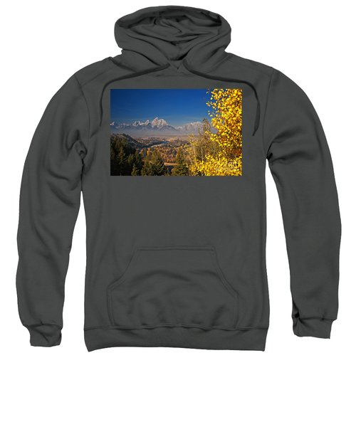 Fall Colors At The Snake River Overlook Sweatshirt