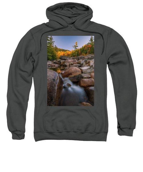 Fall Foliage In New Hampshire Swift River Sweatshirt